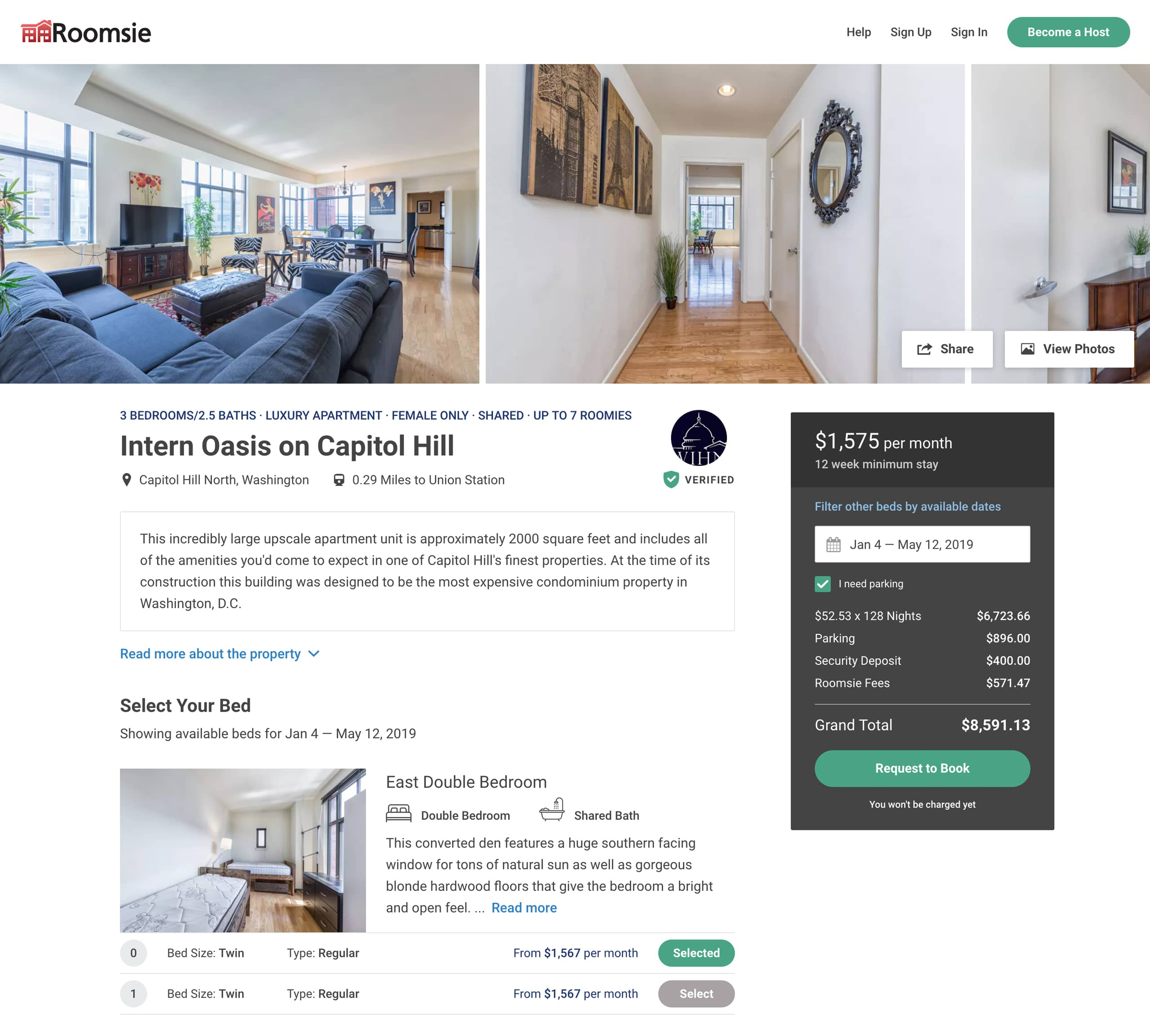 Property Page